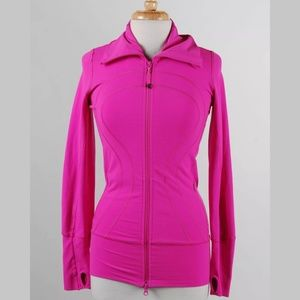 Lululemon Bright Pink Jacket